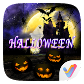 Halloween Dynamic V Launcher Theme
