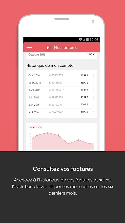 Forfait Mobile Prixtel- screenshot