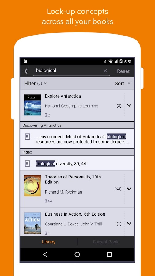 Chegg eReader – Read eBooks- screenshot