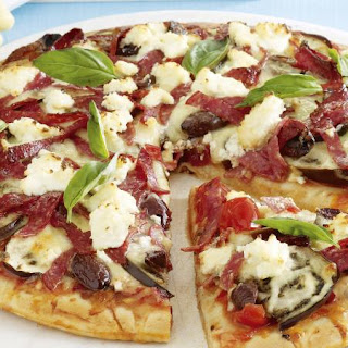 Salami and Ricotta Pizzas Recipe