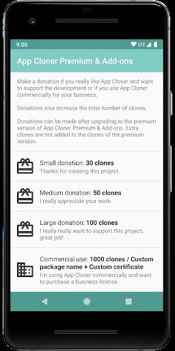App Cloner Premium & Add-ons 1.0.9 screenshots 2