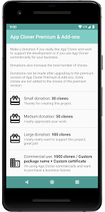 App Cloner Premium & Add-ons Mod 2.1.1 Apk [Unlocked] 2