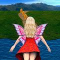 Flying Girl Runner. download