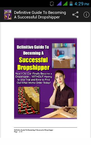 Successful Drop shipper Guide.