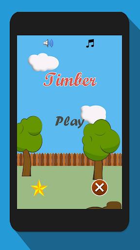 Timberman, Wood Chopping Fun  screenshots 1