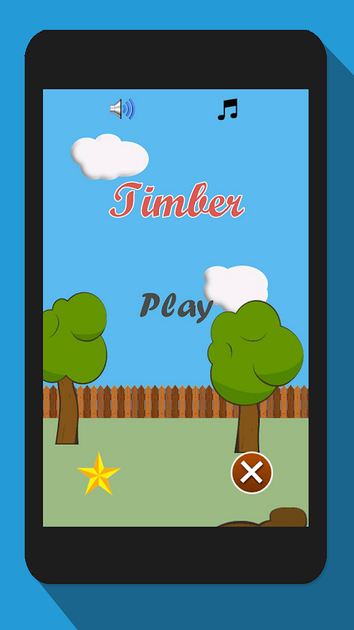 Timberman, Wood Chopping Fun- screenshot
