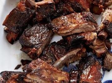 Honey Glazed Pork Spareribs Recipe