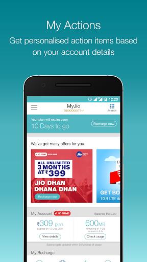 MyJio screenshot 1