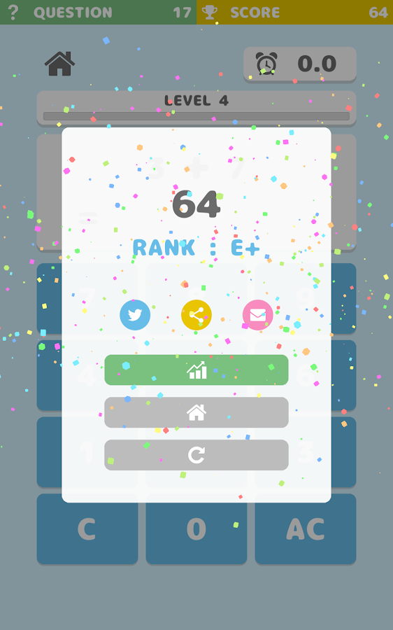 SimpleMath -  Brain training!!- screenshot