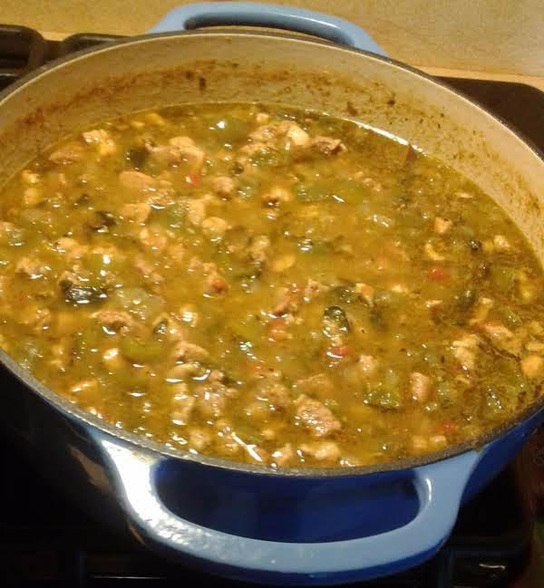 Pork Green Chili Stew