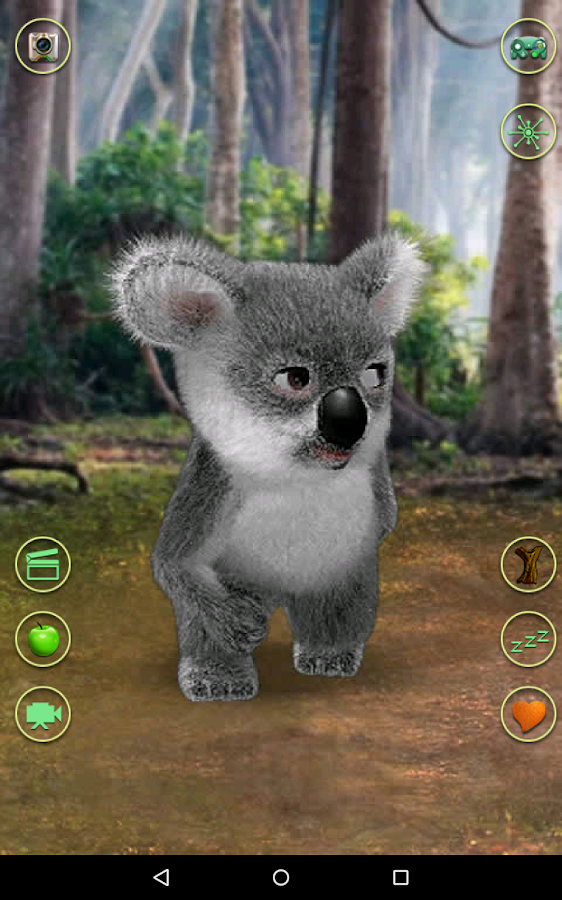 Talking Koala Bear- screenshot