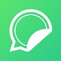 WhatSticker - Free Sticker Store for WhatsApp icon