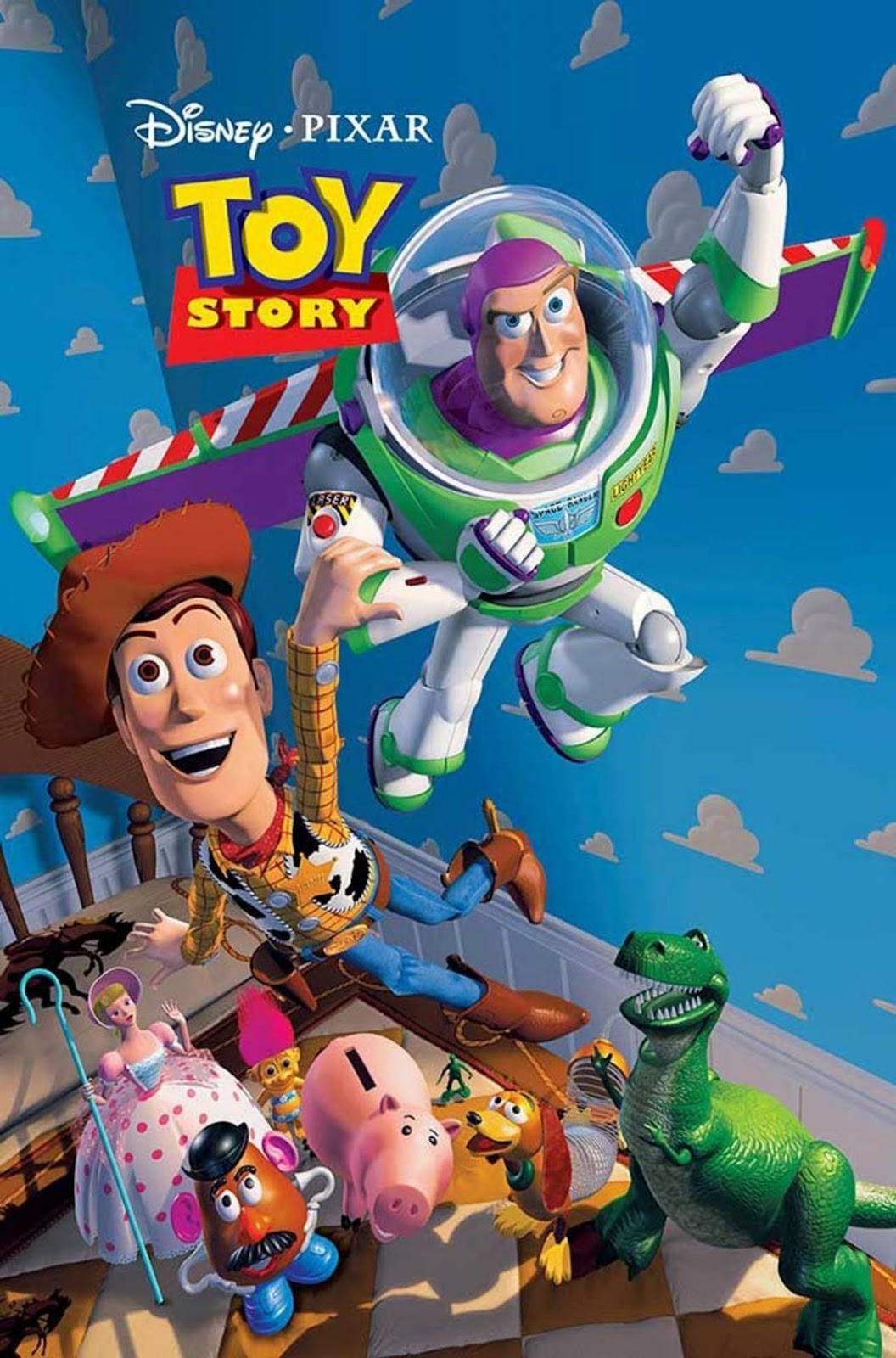 Woody, Buzz Lightyear and other living toys