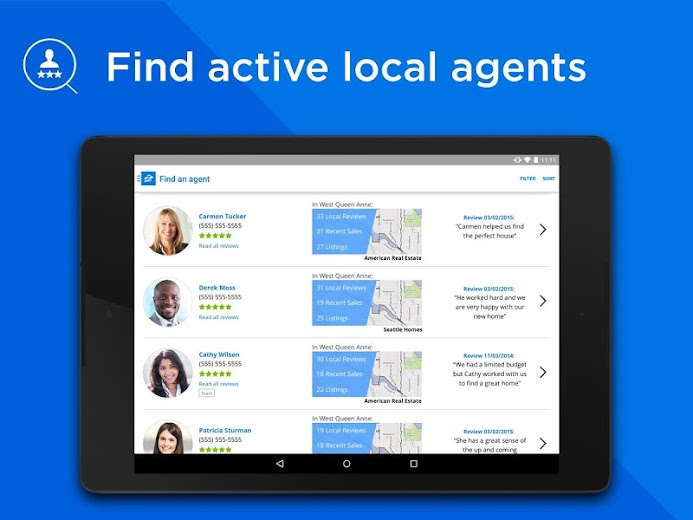 Screenshot 8 for Zillow's Android app'