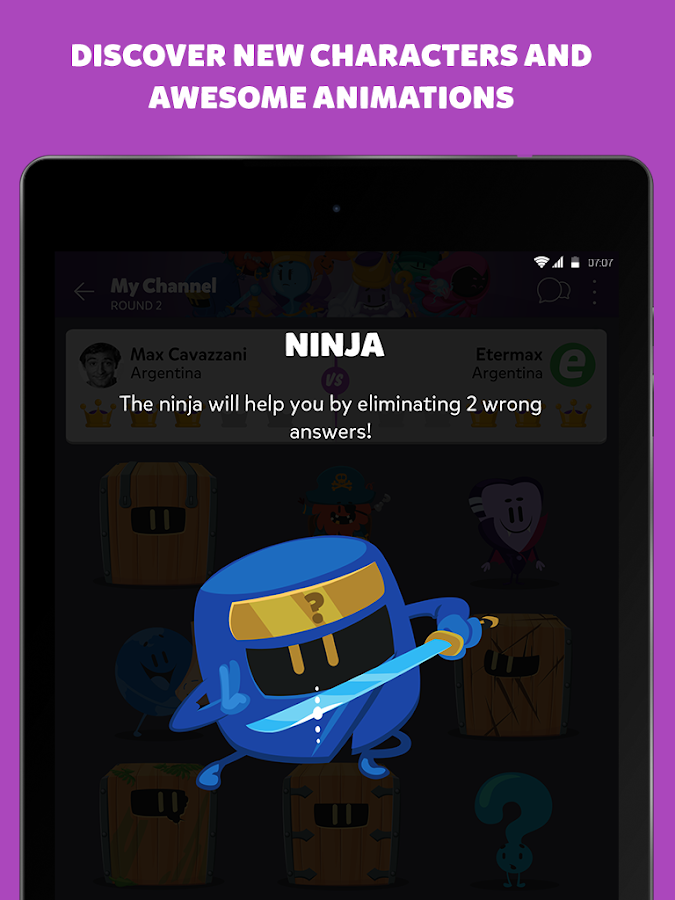 Screenshots of Trivia Crack Kingdoms for iPhone