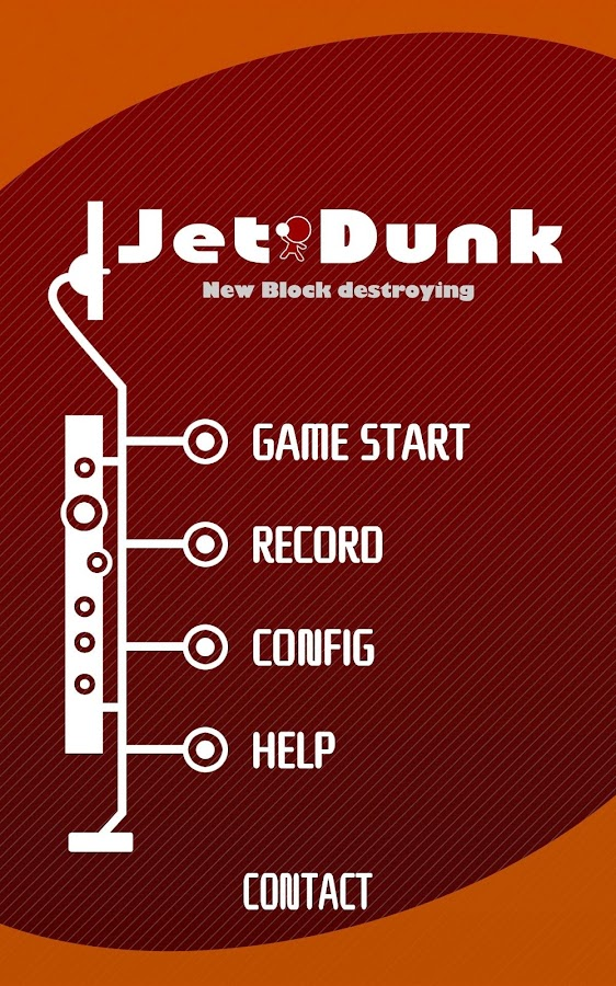 Jet Dunk - Block Breaking- screenshot