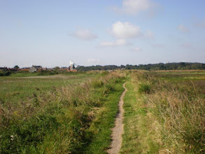 Photo: Norfolk Coast Path - From Wiveton to Cromer - Cley Windmill