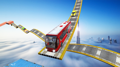 Impossible Bus Tracks Stunts Coach Driving Sim 1.0 screenshots 3