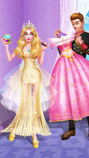 ud83dudc78ud83dudc57Sleeping Beauty Makeover - Date Dress Up apkmr screenshots 4