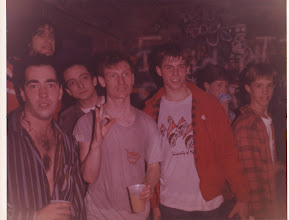 Photo: The Dead Milkmen and me in the 80s.