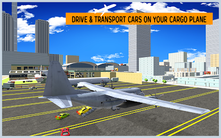 Airplane City Car Transporter 1.0 screenshot 1758570