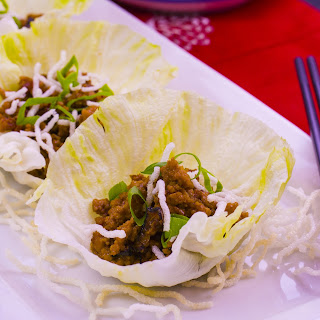 San Choy Bow with Rice Vermicelli Recipe