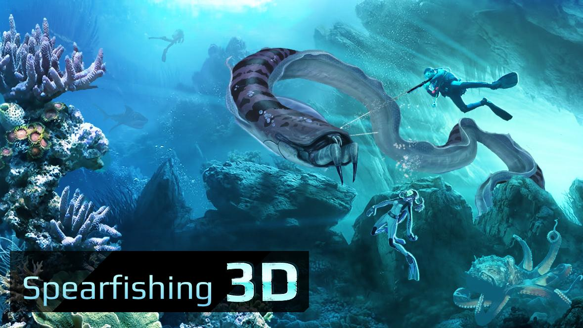 Spearfishing 3D- screenshot