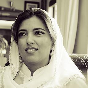 Bride by Samantha Schnuir - Wedding Bride ( muslim, woman, wedding, marraige, bride )