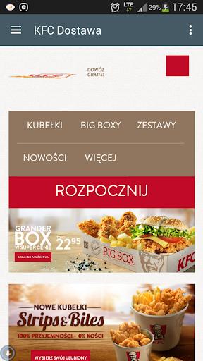 KFC Dostawa Do Domu