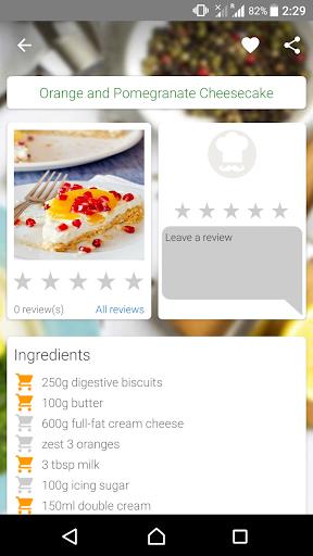 Baking Recipes Screenshot