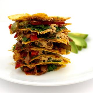 Skinny Vegan Quesadillas