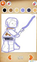 Draw star heroes on the phone - screenshot thumbnail 07