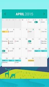 Month: Calendar Widget v2.2.15.5.11