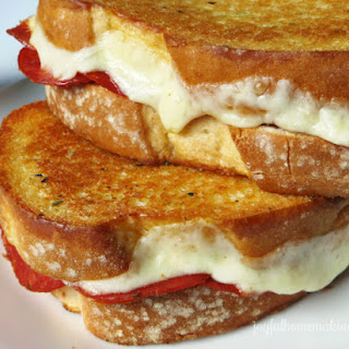 Oven Baked Pizza Grilled Cheese Sandwiches Recipe