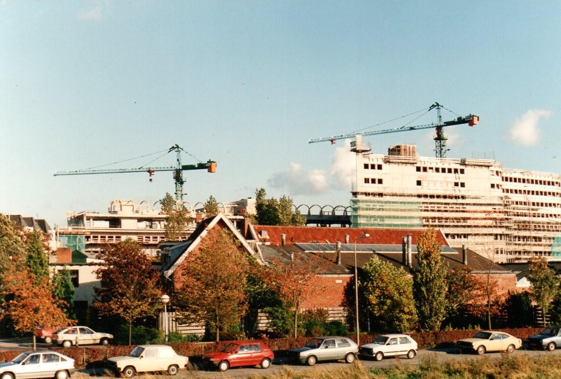 Uitzicht vanaf de Marwixkade (1988)