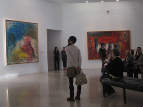 Photo: In the afternoon, we visit the Musee National Marc Chagall. Photos are allowed!