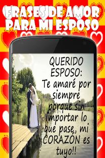 Frases De Amor Para Mi Esposo Mga App Sa Google Play