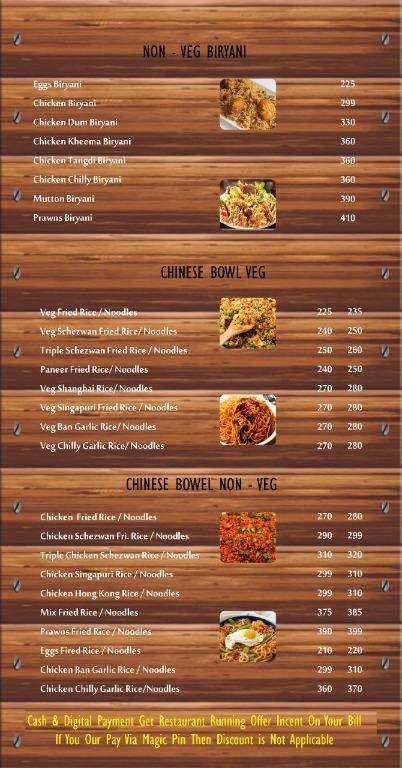 Tasty Punjab menu 2