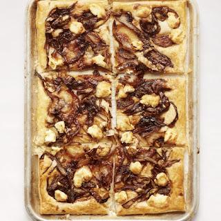 Nadiya Hussain'S Goats Cheese and Caramelised Onion Tart Recipe