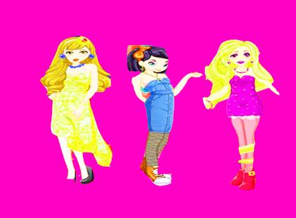 Fashionista doll dress-up - náhled