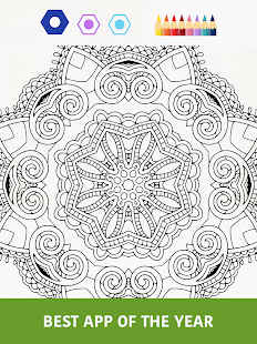 Colorfy coloring book free android apps on google play Coloring book for adults android