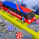 Off-road City Superheroes Bus Mega Stunts Drive APK