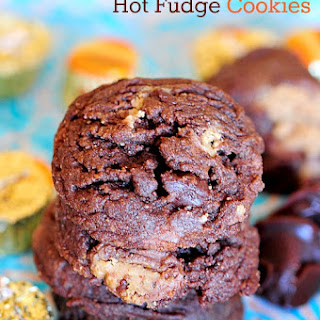 Reese's Hot Fudge Cookies
