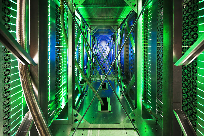 Photo: Final photo of the server aisle in Mayes County (http://goo.gl/P5Ugq)