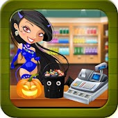 Halloween Party Food Cash Register - Shopping Game