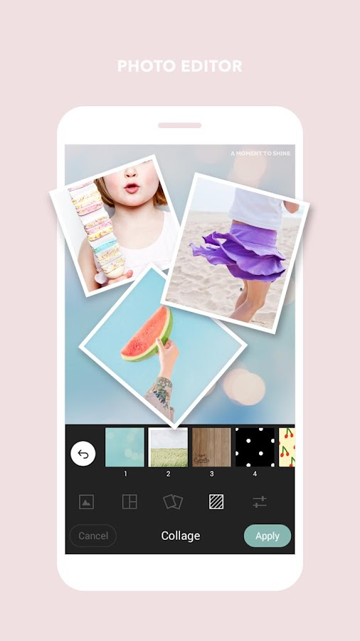 Cymera Editor - Selfie Camera, Collage, Effects- screenshot