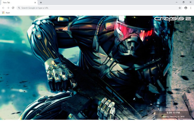 Crysis 2 New Tab & Wallpapers Collection