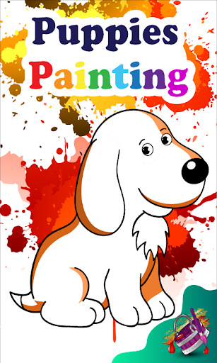 【免費解謎App】Puppies Painting-APP點子