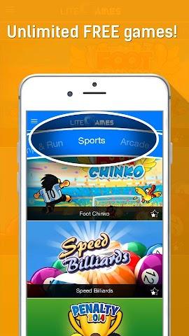 Screenshot 1 LiteGames-Unlimited FREE Games