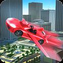 Flying Car Simulator 2017 icon